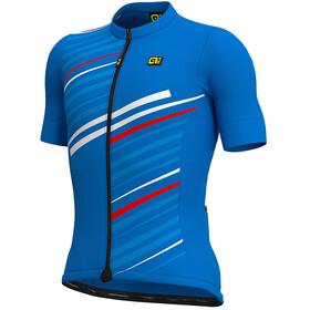 Alé Cycling Solid Flash SS Jersey Men, azul